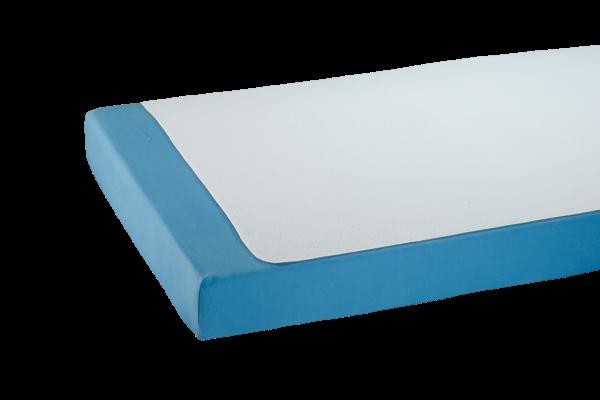 Doppelpack Bettauflage-Frottee 3032, Kanten geschnitten, antiallergen, wasserundurchlässig, Weiß