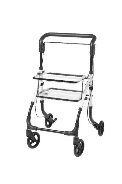 Rollator für den Innenbereich, Servierwagen, faltbar, leicht und wendig