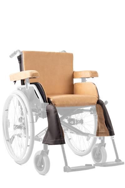 Rollstuhl-Polster-Set von Saljol für alle Standard-Rollstühle, verschiedene Farben