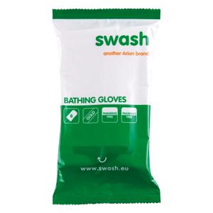 Swash® Gold Gloves - gebrauchsfertige Waschhandschuhe