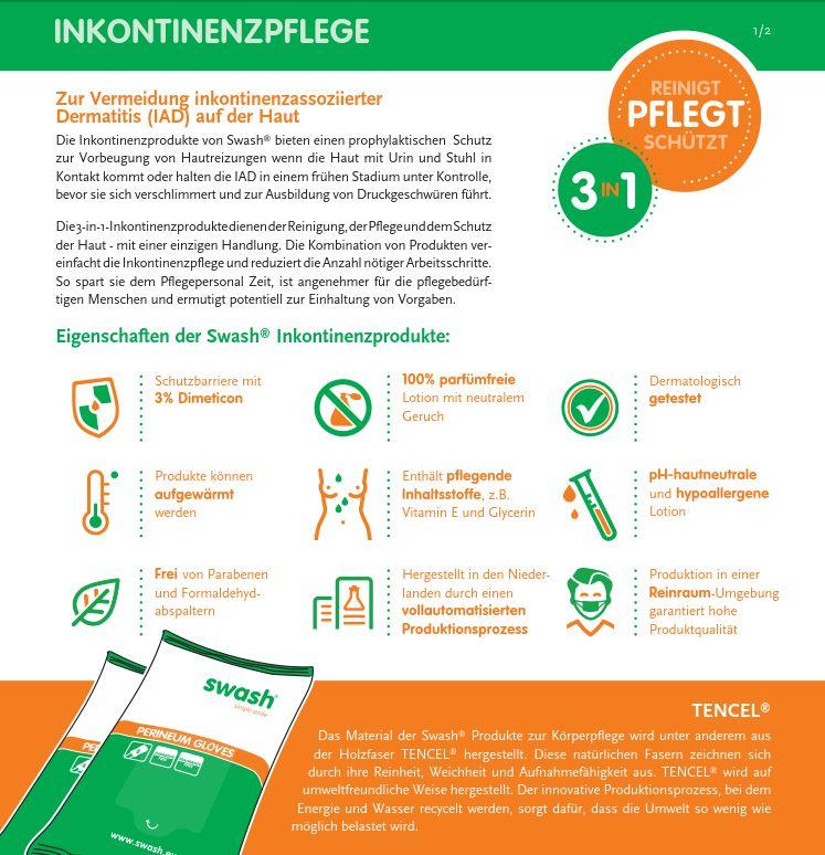Datenblatt-Inkontinenzpflege