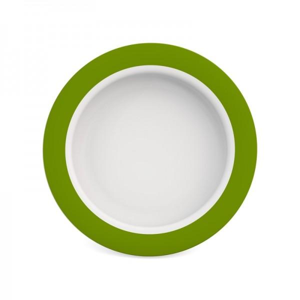 Teller mit Kipp-Trick aus Qualitätskunststoff