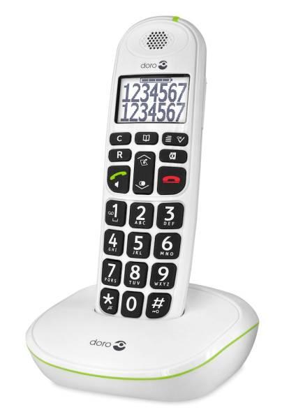 Festnetztelefon mit sprechenden Tasten
