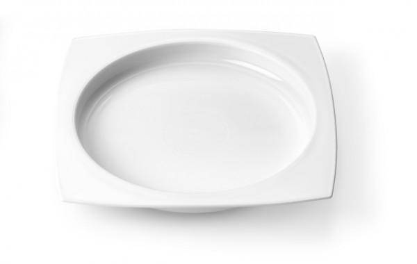 Teller mit erhöhtem Rand, Ø 25 cm, erleichtert die selbständige Nahrungsaufnahme
