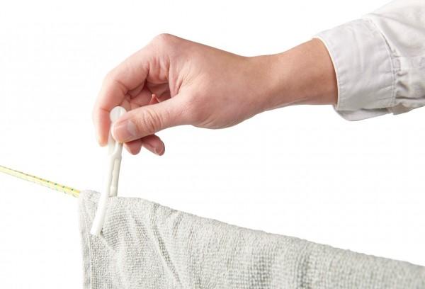 Wäscheklammern für Personen mit eingeschränkter Handfunktion, 20 Stück