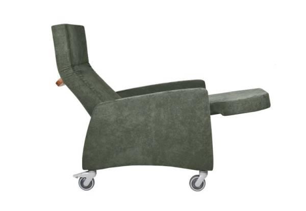 """Mobiler Pflegesessel """"DABO"""" mit und ohne Aufstehhilfe, bis 140 kg belastbar"""