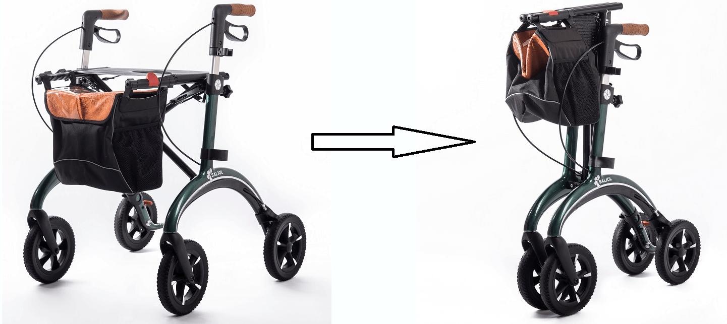 Rollator-faltbar-Faltmechanismus-der-Rollatoren