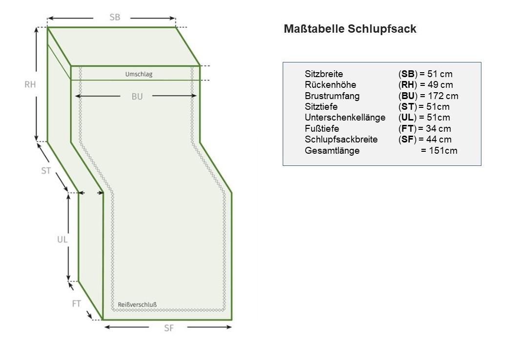 Masstabelle-Schlupfsack-XXL