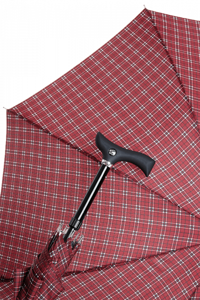 Stuetzschirm Stepbrella Karo Design