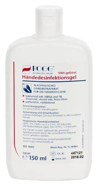 Händedesinfektion ohne Duftstoffen von ROGG