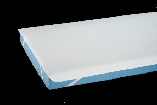 Doppelpack Bettauflage-Molton PREMIUM 3531, mit Eckgummis, PU beschichtet, 100 x 200 cm, Weiß
