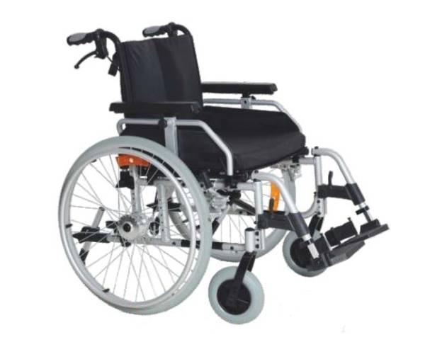 """Leichtgewicht-Rollstuhl """"Ligthi"""" mit Greifreifen, belastbar bis 180 kg"""