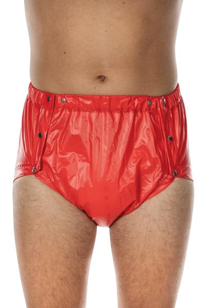 PVC-Slip 9646, knöpfbar, Taillen- und Beinweitenregulierung, bei schwerer Harn- und Darminkontinenz