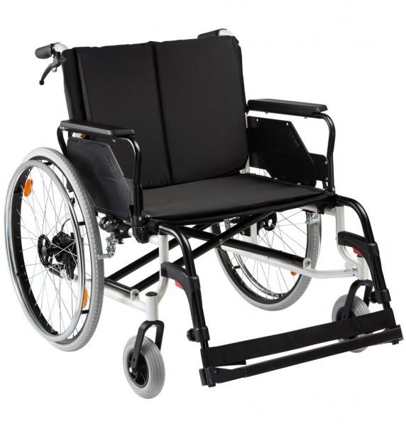 Rollstuhl CANEO XL, bis 200 kg belastbar, faltbar