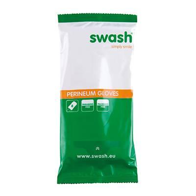 Swash® Perineum Gloves - Gebrauchsfertige Waschhandschuhe, Inkontinenzpflege
