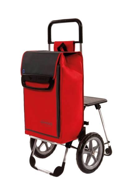 Einkaufswagen mit Sitz - Seniorgo