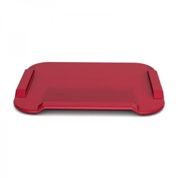 Essbrettchen für demenzerkrankte Menschen, rot, verschiedene Größen