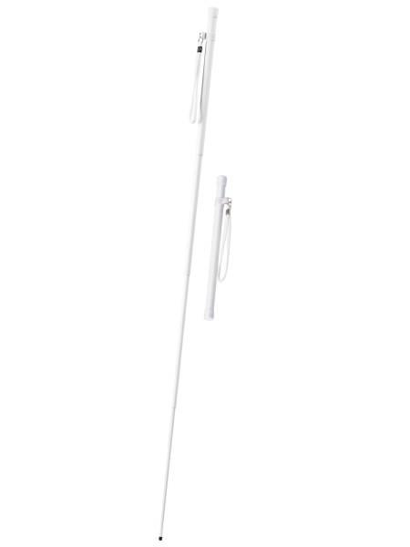 Blindenstock aus Fiberglas - Extrem leicht & teleskopierbar
