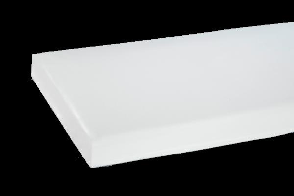 Matratzenhülle Polyurethan 3529, verdeckter Reißverschluss, 100 x 200 x 20 cm, Weiß