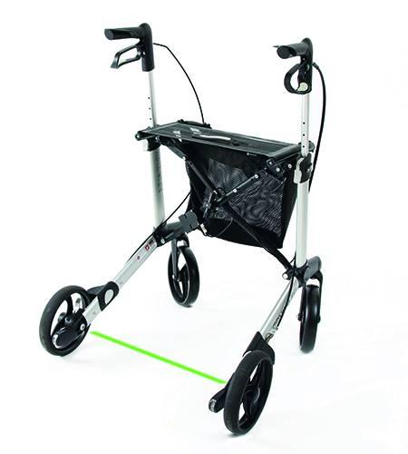 Parkinson Rollator - Gemino 30 mit Schleppbremse