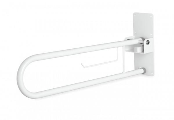 Haltegriff WC mit Toilettenpapierhalter, bis 120 kg belastbar