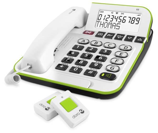 Doro Secure 350 - Großtastentelefon mit Notruffunktion