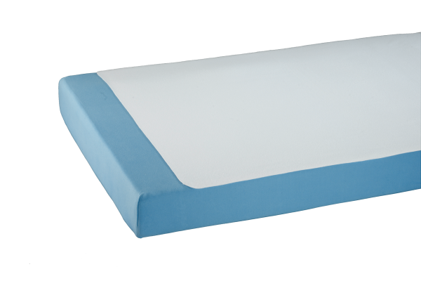 Doppelpack Bettauflage-Molton 3058, Kanten gesäumt, antiallergen, wasserundurchlässig, Weiß