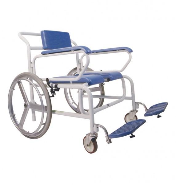 Dusch-Toiletten-Rollstuhl XXL