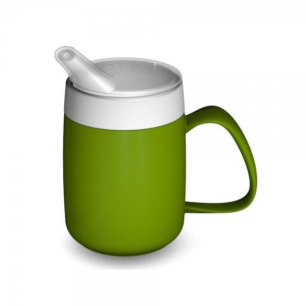 Ornamin Thermobecher mit Trink-Trick, 140 ml, mit Schnabelaufsatz (Ø 5 mm)