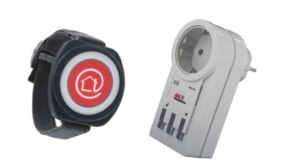Funk-Notrufsender PROFILINE, Armbandsender, inkl. Alarmempfänger