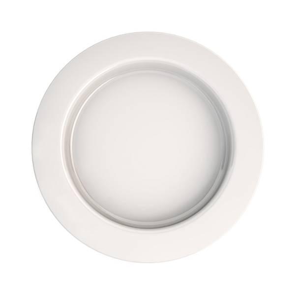 Teller mit Kipp-Trick, Qualitätskunststoff, Ø 27 cm, für Personen mit eingeschränkter Handbewegung