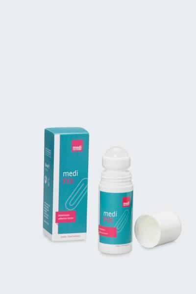 medi fix - Hautkleber für sicheren Halt Ihrer Kompressionsstrümpfe, 50 ml