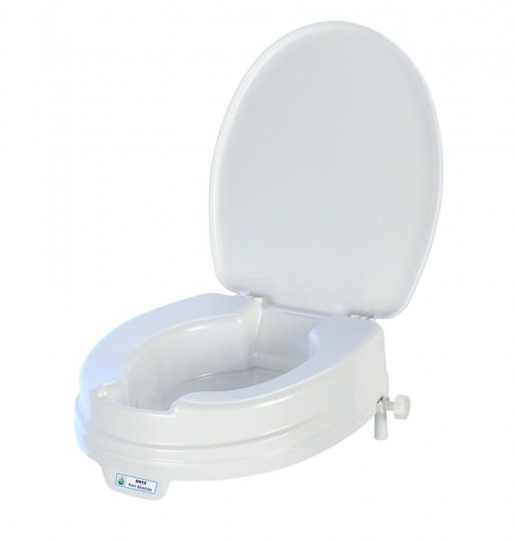 Toilettensitzerhöhung mit Lotus Effekt