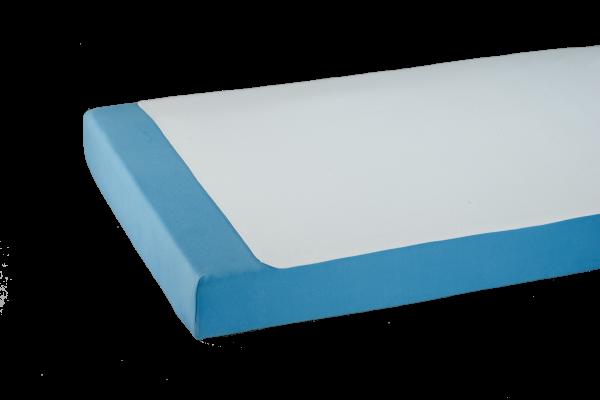 Doppelpack Bettauflage-Molton 3958, Kanten geschnitten, antiallergen, wasserundurchlässig, Weiß