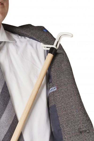 Anziehhilfe, Ankleidestock für die Jacke