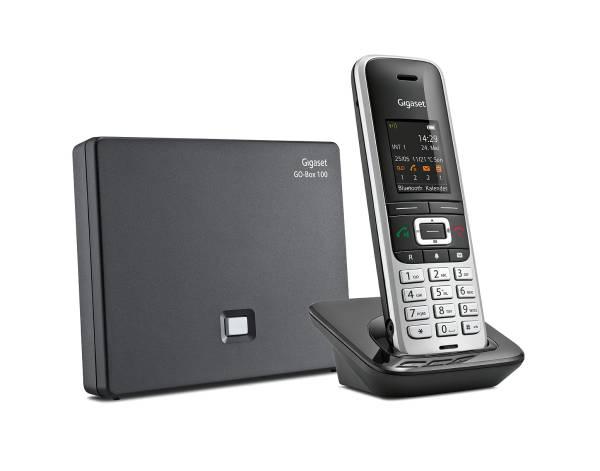 Gigaset S850A GO - Großtastentelefon, Festnetz- und Internettelefonie