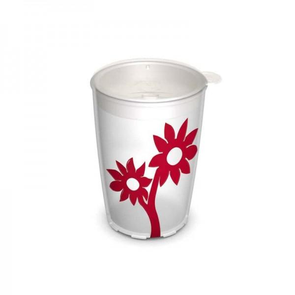 Ornamin Antirutsch-Becher Blume