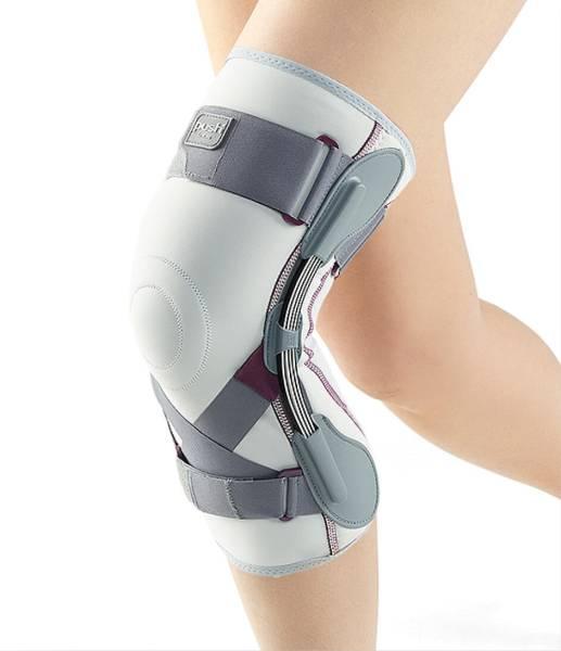 Push med Kniebandage mit Gelenk, seitlich stabiler Halt