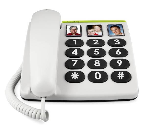 Doro PhoneEasy® 331ph - Großtastentelefon mit Direktrufwahl