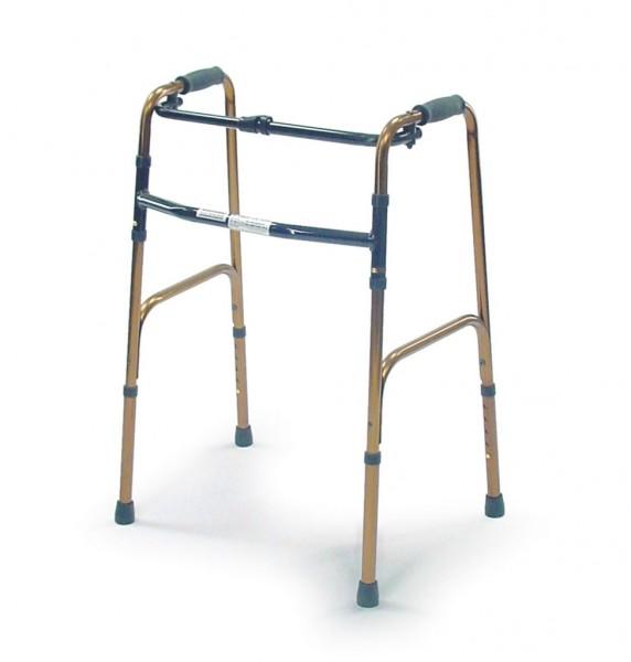 Gehgestell, 5-fach höhenverstellbar, faltbar, belastbar bis 130 kg