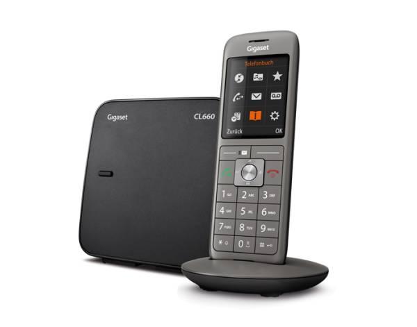 Gigaset CL660 Großtasten Telefon mit Basisstation