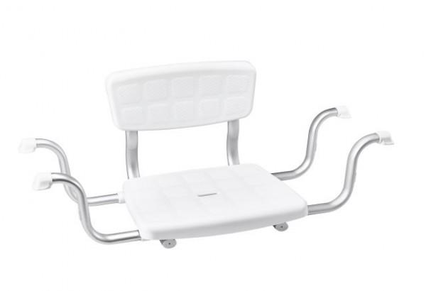 Badewannensitz mit Rückenlehne für mehr Sicherheit bei der Körperpflege