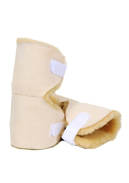 Kniegelenkschoner aus Medizin-Schaffell
