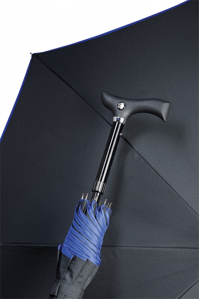 Stützschirm Stepbrella schwarz-blau