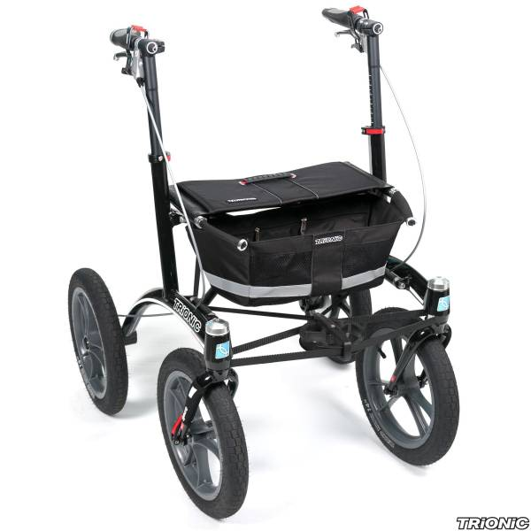 "Rollator Walker - 14""/36 cm Räder - OutdoorProfi"